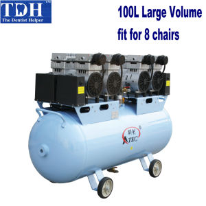 CE Approved for 8 Chairs Dental Air Compressor (TDH-320/100) pictures & photos