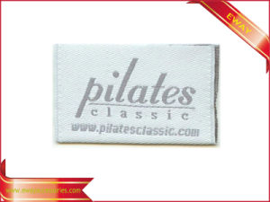 Brand Damask Woven Label Garment Main Label pictures & photos