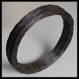 Q195 Bwg18 Black Anneald Twisted Wire pictures & photos