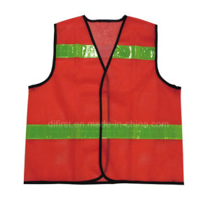 High Visibility Reflective Safety Vest with En471 (DFV1101) pictures & photos