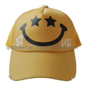 Promotion Screen Print Sponge Compound Front Mesh Trucker Hat (TMT0090A-1) pictures & photos