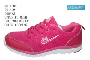 No. 45853 Three Color Stock Sport Shoes for Lady pictures & photos