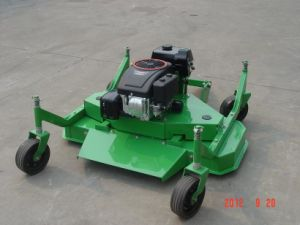 Finishing Mower for ATV Using (model DMH120 ATV finishing mower with self gasoline engine) pictures & photos