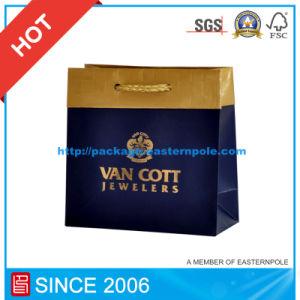 Hot Stamping Luxury Embossed Paper Shopping Gift Bag