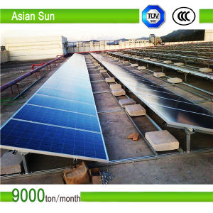 Galvanized Ground PV Solar Mounting System/Bracket with Competitive Price pictures & photos