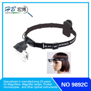 Head Wear Magnifier with LED Lamp (MG9892C) pictures & photos