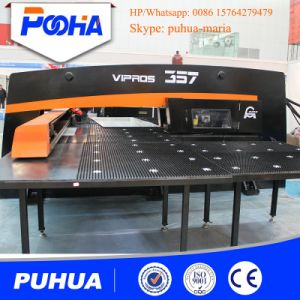 Mechanical CNC Turret Punching Machine with 16/24/32 Tools Punch Press pictures & photos