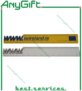 Wooden Ruler with Customized Logo pictures & photos