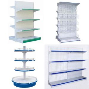 Low Price Grocery Shelf Manufacturer pictures & photos