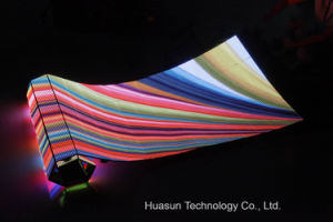 Outdoor Galaxias P12 Flexible LED Curtain Screen pictures & photos