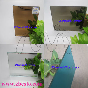 Frameless Cheap Float Glass Silver Aluminum Mirror Panels pictures & photos
