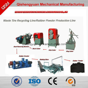 Wire Removing Machine for Waste Tire Recycling pictures & photos