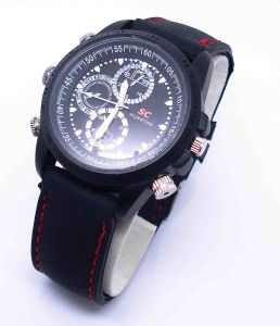 Waterproof Spy Watch Camera Hidden Video Surveillance 4GB-8GB (QT-L001) pictures & photos