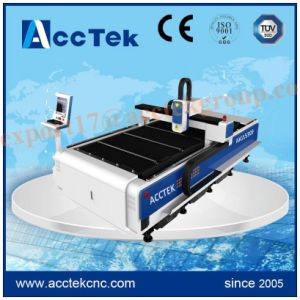 500W Lathe Fiber Laser Cutting Machine for Stainless Stee