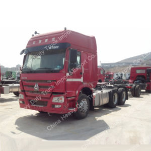 Sinotruck HOWO 6X4 420HP Heavy Duty Tractor Truck pictures & photos