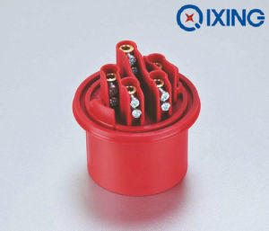 Cee 4pins Waterproof Plastic Industrial Plug (QX252) pictures & photos