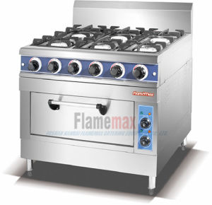 4-Burner Gas Range with Gas Oven (HGR-4G) pictures & photos