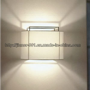 So Classical Design White Modern Wall Sconces Lamp Light for Bedroom pictures & photos