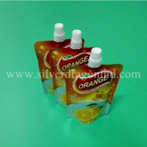 Custom Stand up Spout Pouch for Jelly Drink Packing 200g pictures & photos