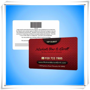 Cheap Membership Offset Printing Barcode Card