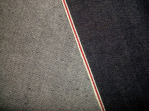 Red Selvage Cotton Denim Fabric pictures & photos