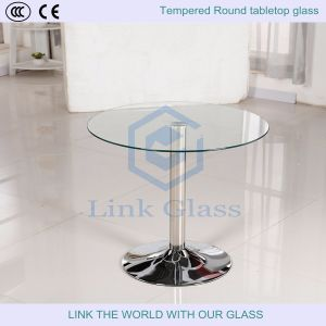 6-12mm Round / Circle Tempered Tabletop Glass/Furniture Glass pictures & photos
