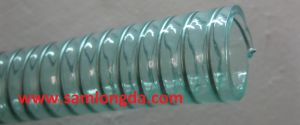 Clear Green PVC Steel Wire Hose pictures & photos