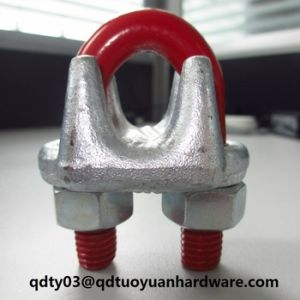 Rigging Hardware Us Type Drop Forged Stainless Steel Wire Rope Clamp pictures & photos