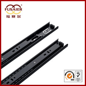 45mm Black Paint Full Extension Drawer Runners pictures & photos