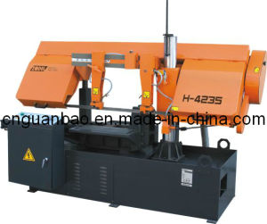 High Quality Double Column Band Sawing Machine H-4230 pictures & photos