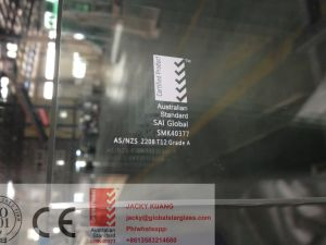 Splashback Glass/Blustrade Glass/ Shower Glass Price 3-19mm Certified by AS/NZS2208 pictures & photos