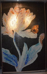 Beautiful Flower Mosaic Decoration Tile pictures & photos