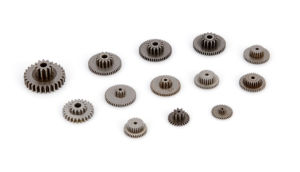 Powder Metallurgy Dual Gear for Roast Chicken Furnace pictures & photos
