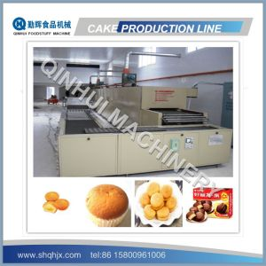 Complete Full Automatic Cake Making Machine Production Line pictures & photos