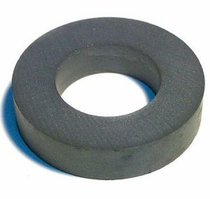 High Performance Permanent Ferrite Ring Magnet pictures & photos
