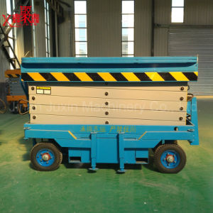 Scissor Lift Hydraulic Drive Motor Small Platform Scissor Lift pictures & photos