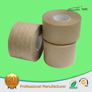 Striped Kraft Paper Adhesive Tape pictures & photos