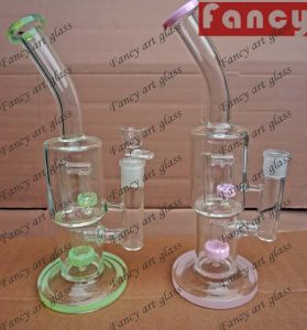 Glass Water Pipe with Recycler Inline Perc Glass Water Pipe pictures & photos