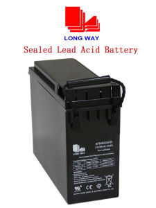12V55ah Front Access Sealed Lead Acid Battery pictures & photos