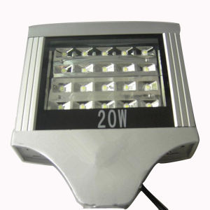 High Power Bridgelux 20W LED Parking Lot Street Light pictures & photos
