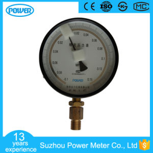 150mm Black Steel Case Bottom Connection High Precision Pressure Gauge pictures & photos