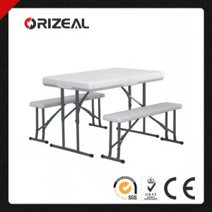 Orizeal 2014 Hot Sale Outdoor Plastic Folding Tables and Chairs (Oz-T2023) pictures & photos