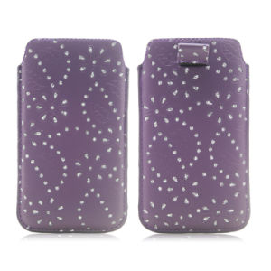 PU Leather Universal Phone Pouch Case for iPhone & Microsoft pictures & photos