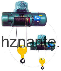 Electric Wire Rope Hoist (CD, MD, SHA) pictures & photos