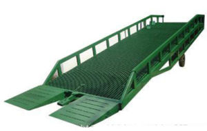 6t Mobile Forklift Loading and Unloading Yard Ramp pictures & photos