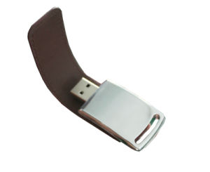 Wholesale Leather USB Flash Drives Leather PU USB Disk pictures & photos