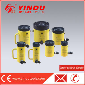 10 Ton Safety Lock Nut Hydraulic Cylinder (HHYG-10100) pictures & photos