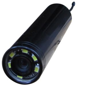 2.4GHz HD Wireless Inspection Camera Bullet Camera (20X84mm; 520TVL; 5/8 meters view, 90deg, 6 LED/IR lights) pictures & photos