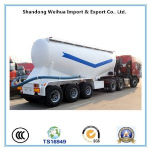 China Manufacture Bulk Cement Semi Trailer, Cement Tanker pictures & photos