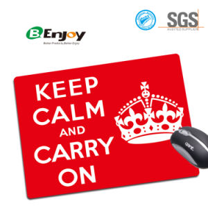 Non Slip Rubber Backing Promotional Gifts Mouse Pad pictures & photos